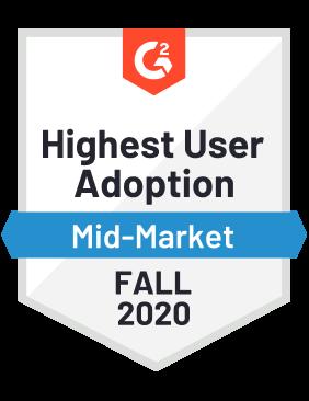 Highest-user-adoption